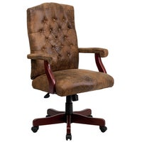 shop bomber brown classic executive office chair free shipping