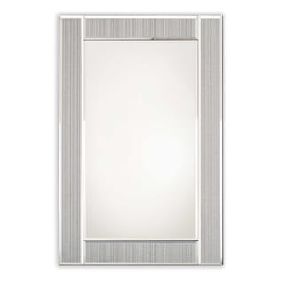 Selections by Chaumont Glitter Ascot All Glass Wall Mirror