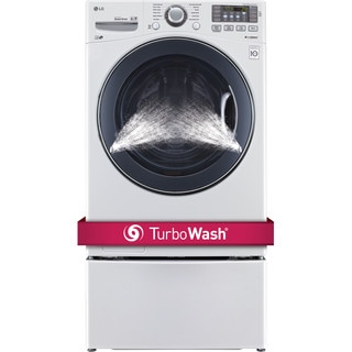LG WM3575CW 4.5-cubic Foot Ultra Large Capacity Turbowash Washer in White