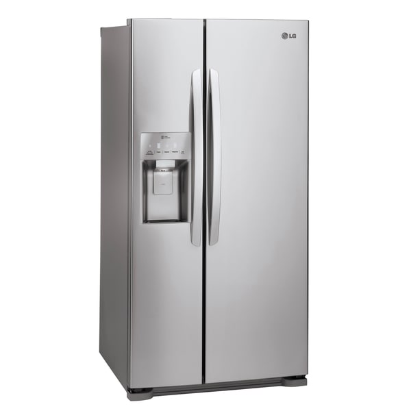 Lg Lsxs22423s 22 Cubic Foot Side By Side Refrigerator In