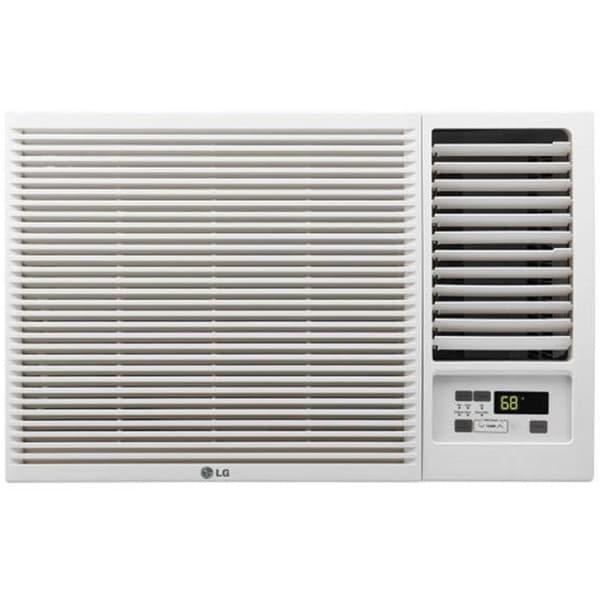 Lg lw8016hr 7 500 btu 115v window mounted air conditioner for 115v window air conditioner with heat
