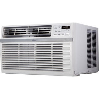 LG LW8015ER 8,000 BTU 115V Window-mounted White Air Conditioner with Remote Control