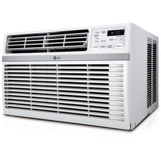 LG LW1216ER 12,000 BTU 115V Window-mounted Air Conditioner with Remote Control - White