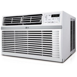 LG LW1016ER 10,000 BTU 115V Window-mounted Air Conditioner with Remote Control - White
