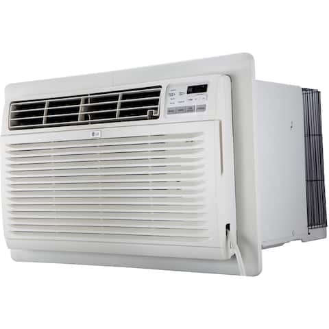 LG LT1216CER 11,500 BTU 115V Through-the-Wall Air Conditioner with Remote Control - White