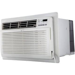 LG LT1216CER 11,500 BTU 115V Through-the-Wall Air Conditioner with Remote Control - White
