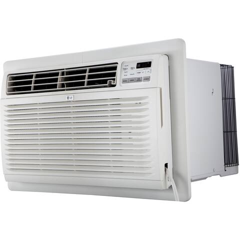 LG LT1016CER 9,800 BTU 115V Through-the-Wall Air Conditioner with Remote Control - White