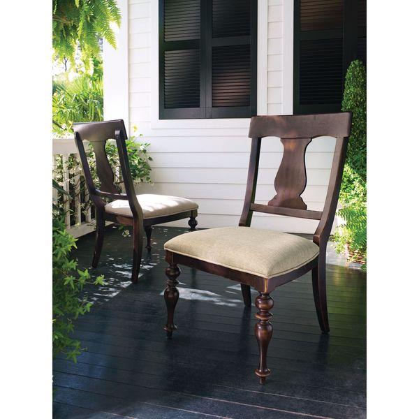 Paula Deen Home Paulau0026#x27;s Dining Chair In Tobacco Finish ...
