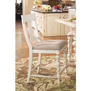 Paula Deen Home Counter Height Chair in Linen Finish (set of 2)|https://ak1.ostkcdn.com/images/products/11627753/P18562434.jpg?impolicy=medium