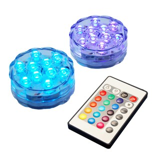 Battery Operated LED Lights with Remote Control (set of 2)