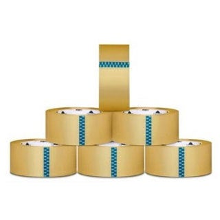 48 Rolls Carton Sealing Clear Packing/ Shipping/ Box Tape- 2.5 Mil- 3-inch x 110 Yards