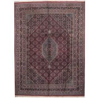 Herat Oriental Indo Hand-knotted Bidjar Wool Rug (9' x 12')