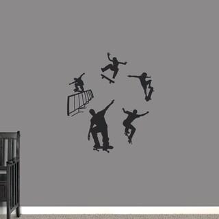 Skateboarding Large Wall Decal Set