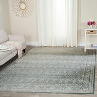 Safavieh Archive Vintage Blue/ Grey Distressed Rug (9' x 12')