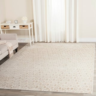 Safavieh Handmade Mirage Modern Beige Wool/ Viscose Area Rug (9' x 12')