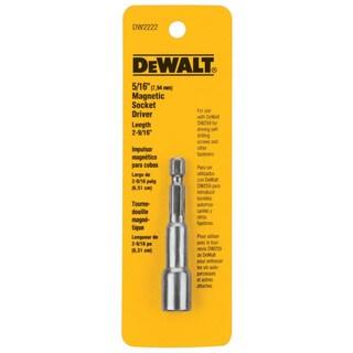 """Dewalt DW2222 5/16"""" Magnetic Nut Drivers"""