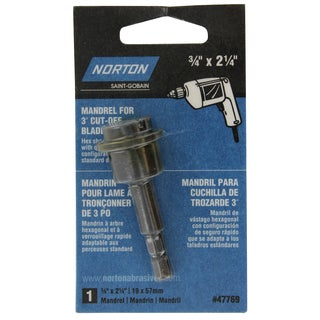 Norton 47769 Wheel Mandrel
