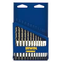 Irwin 73136 Steel High Speed Drill Bit Set 13-count