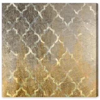 Oliver Gal 'Arabesque Platinum' Canvas Art
