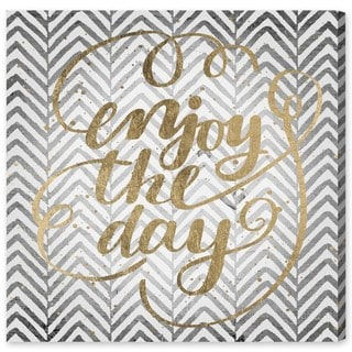 Oliver Gal 'Enjoy All Days' Canvas Art