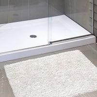 Shaggy Cotton Chenille Bath Rug (21 x 34)