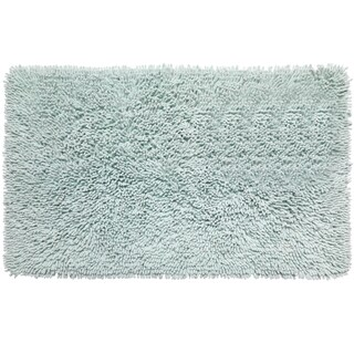 Shaggy Cotton Chenille Bath Rug (21 x 34)