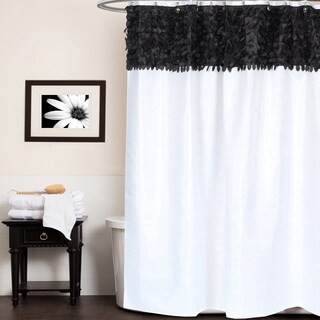 black and white bathroom shower curtain black shower curtains for less overstock vibrant 25113