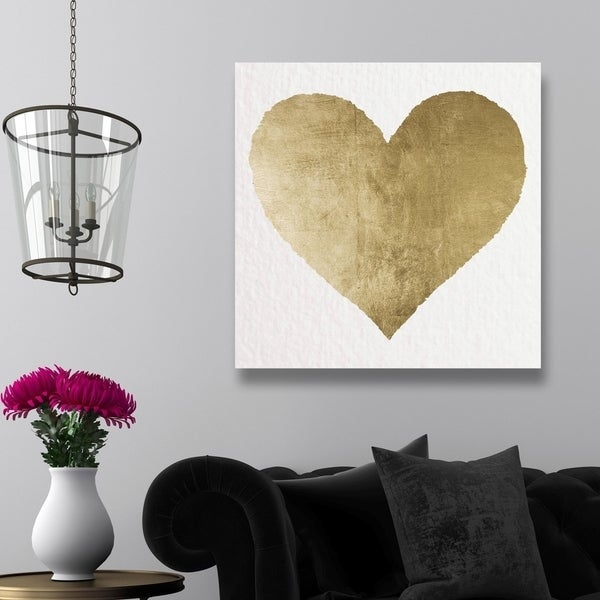 Oliver Gal 'Forever and Ever' Gold Gallery Wrapped Canvas Art