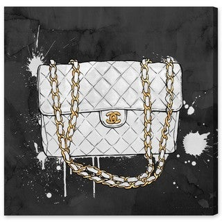 Oliver Gal 'Everything But My White Bag' Canvas Art
