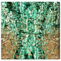 Oliver Gal 'Emerald Sparkle' Canvas Art