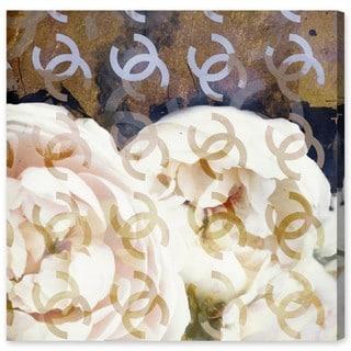 Oliver Gal 'Fashions Flowers Vanilla' Canvas Art