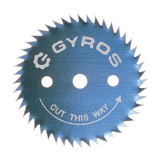 """Gyros Tools 81-31222 1-1/4"""" Gyros Steel Ripsaw Blade"""