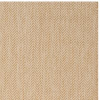 Safavieh Indoor/ Outdoor Courtyard Natural/ Cream Rug - 6' 7 Square