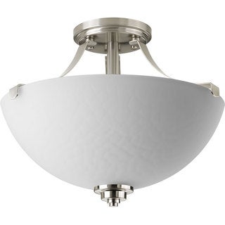 Progress Lighting P2315-09 Legend 2-light Semi-flush Convertible