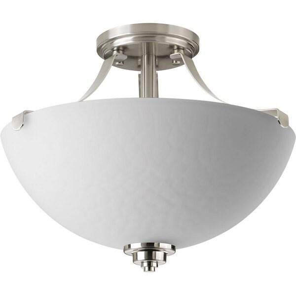 Progress Lighting P2315-09 Legend 2-light Semi-flush Convertible