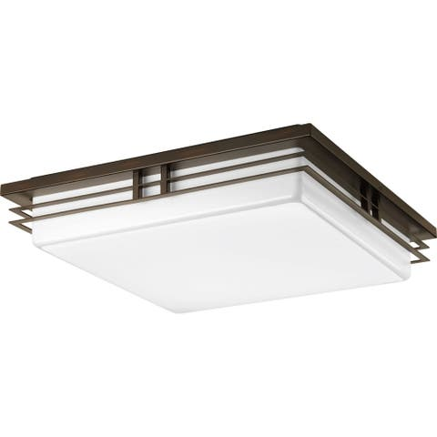 Strick & Bolton Hyland 3-light LED Flush Mount - N/A