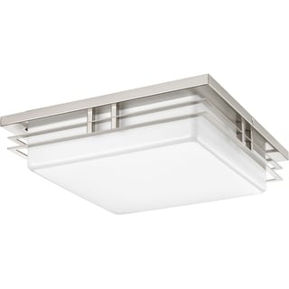Progress Lighting P3448-0930k9 Helm 2-light Ceiling/ Wall LED Flush Mount with AC LED Module 14-inch