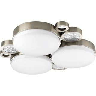 Progress Lighting P3747-0930k9 Bingo 3-light LED Flush Mount Cluster with AC LED Module