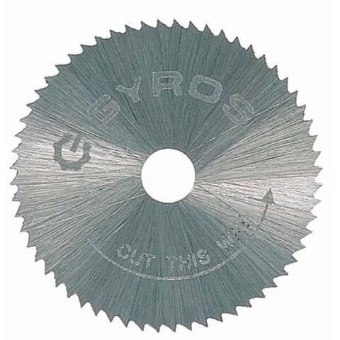 """Gyros Tools 81-10715 3/4"""" Fine Tooth Gyros Steel Saw Blade"""