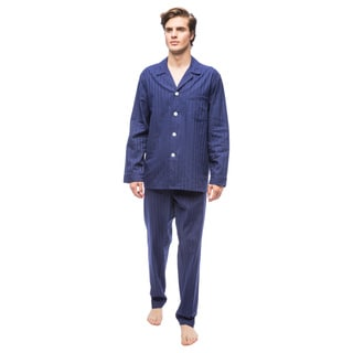 Men's Get the Blues Cotton Pajama Set
