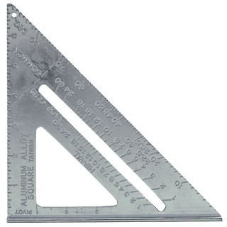 "Mayes 11059 7"" Aluminum Rafter Angle Square"