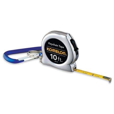 "Komelon USA 4110CS 10' X 1/4"" Key Chain Tape Measure"