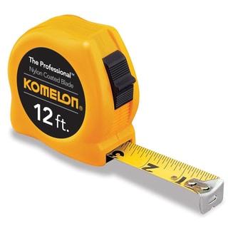 "Komelon USA 4912 12' X 5/8"" Yellow Power Tape Measure"