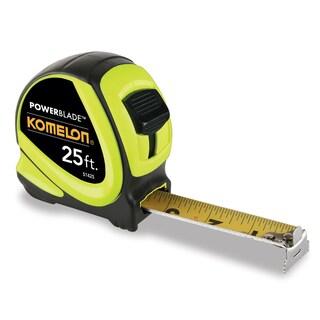 "Komelon USA 51425 25' X 1-1/6"" ABS Tape Measure"
