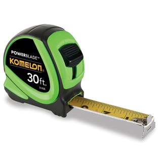 "Komelon USA 51430 30' X 1-1/6"" ABS Tape Measure"