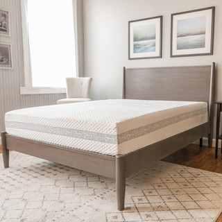 PostureLoft Amaya 11-Inch Innerspring and Gel Memory Foam Mattress, Cal King Size
