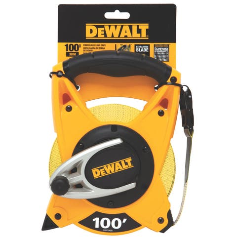 "DeWalt DWHT34028 3/4"" X 100' Tape Measure"