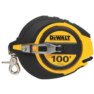 DeWalt DWHT34036 100' Closed Case Long Tape Reel