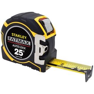 """Stanley Fat Max FMHT33338L 25' L X 1-1/4"""" W Auto Lock Tape Measure"""