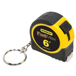 "Stanley Fat Max FMHT33706 1/2"" X 6' Fatmax Keychain Tape Measure"